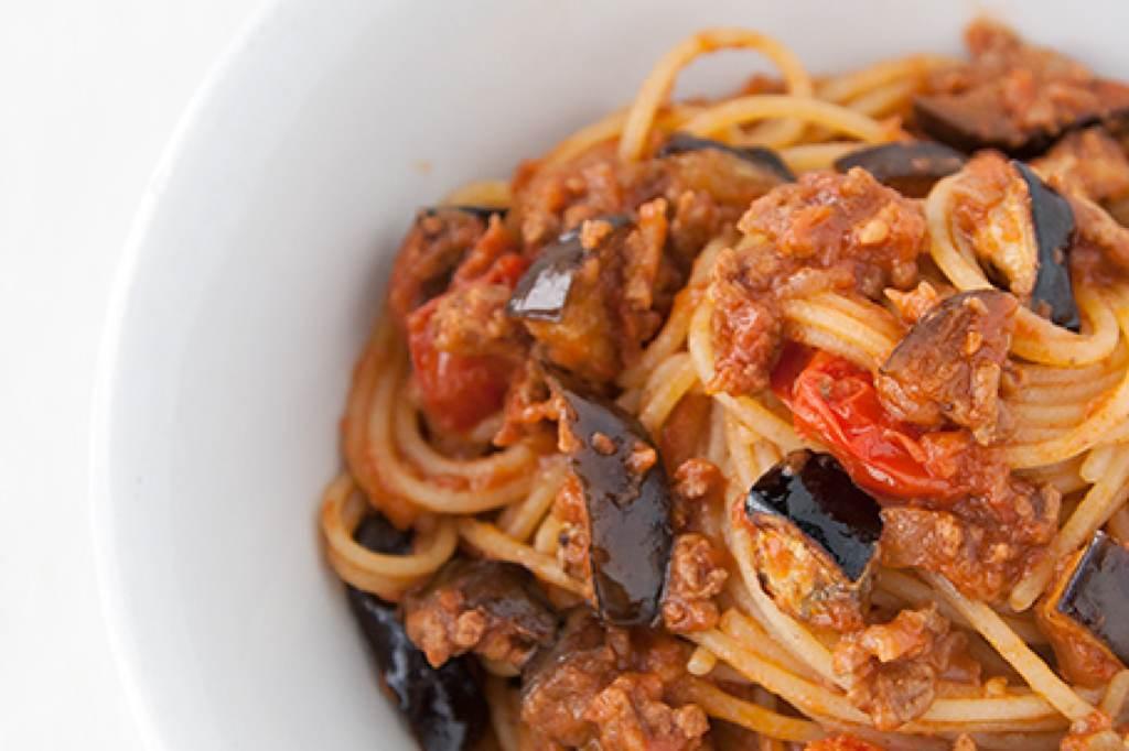 Spaghetti con Caciocavallo Silano DOP